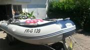 Schlauchboot 3,80m,