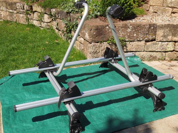 Schnäppchen Neuwertiger Dach-Fahrradträger 2 Fahrräder