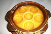 Schneckenteller Keramik ofenfest,