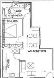 Schöne 2-Zimmer-
