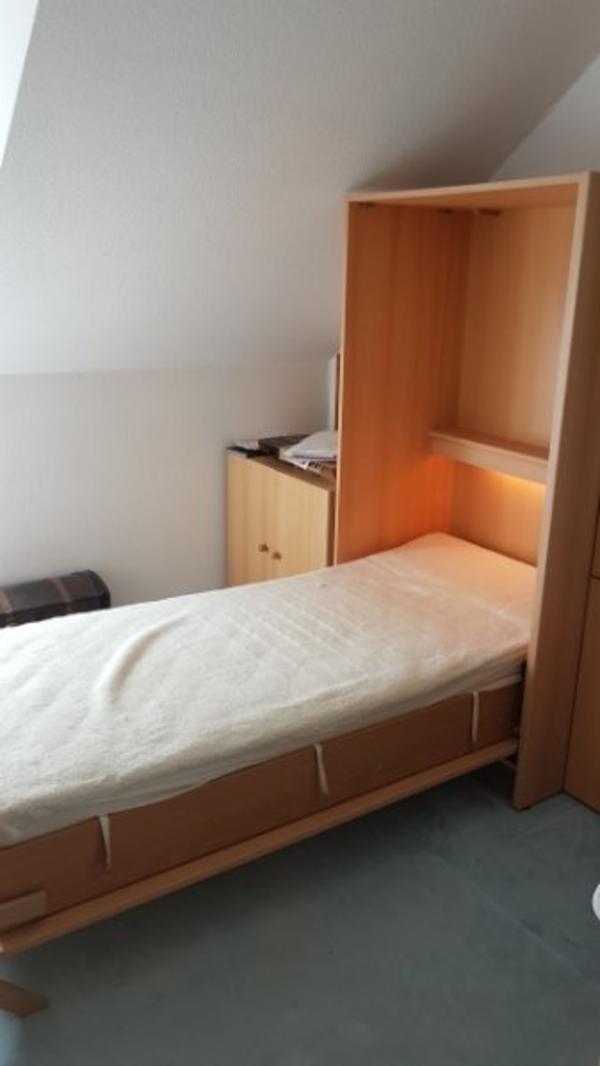 schrankbett klappbett 140 gebraucht kaufen nur 4 st bis. Black Bedroom Furniture Sets. Home Design Ideas