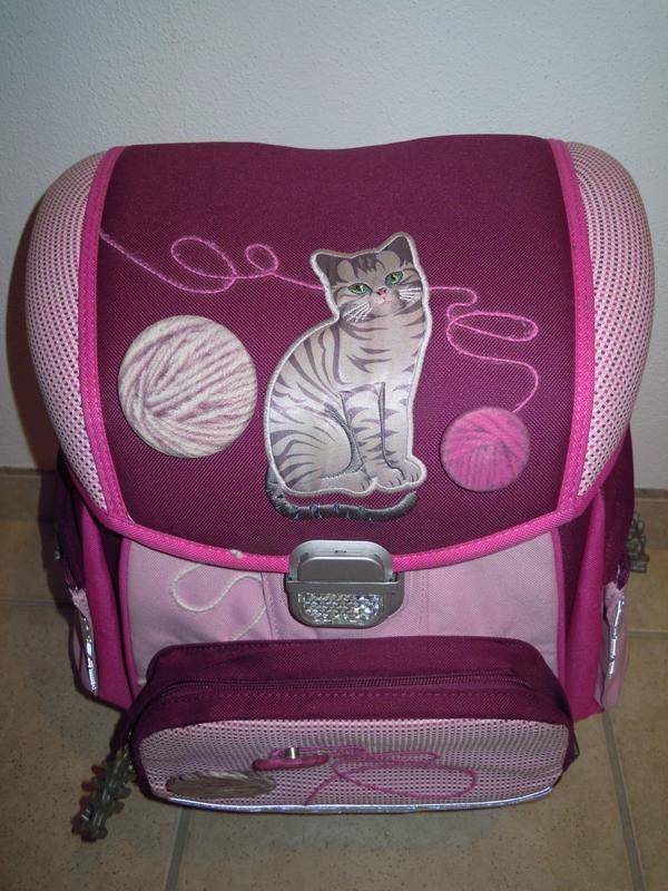 Schultasche Katze