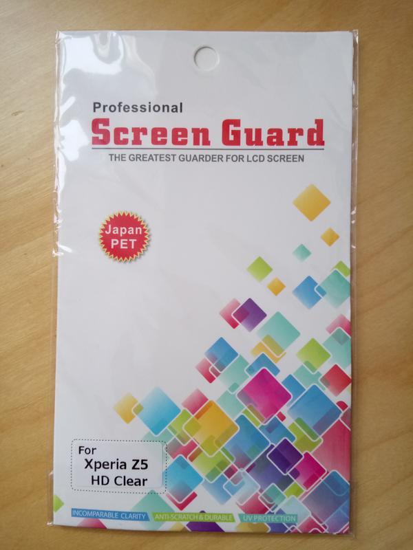 Schutzfolie für Sony XPeria Z5