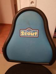 Kinderschreibtischstuhl scout  SCOUT Kinder - Schreibtischstuhl, Stuhl, Drehstuhl in blau in ...