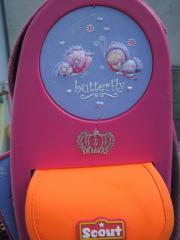 Scout Schulranzen butterfly