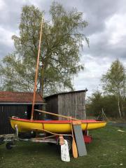 Segelboot/Angelboot
