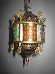 Sehr schöne orientalische Messinglampe Deckenlampe