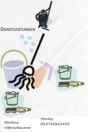 Selbständige Reinigungskraft