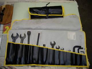Seltene orig Bomag Werkzeugtaschen nicht
