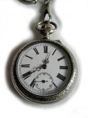 Seltene Taschenuhr von Langendorf ca