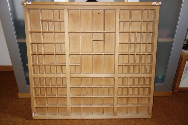 setzkasten druckerei in sandhausen dekoartikel kaufen und verkaufen ber private kleinanzeigen. Black Bedroom Furniture Sets. Home Design Ideas