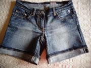 Shorts Jeans-Shorts weiß Gr M