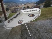 Sonnenschirm Franziskaner Weissbier