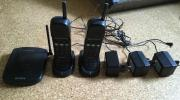 SONY DECT-Telefonanlage DCT-2 komplett mit