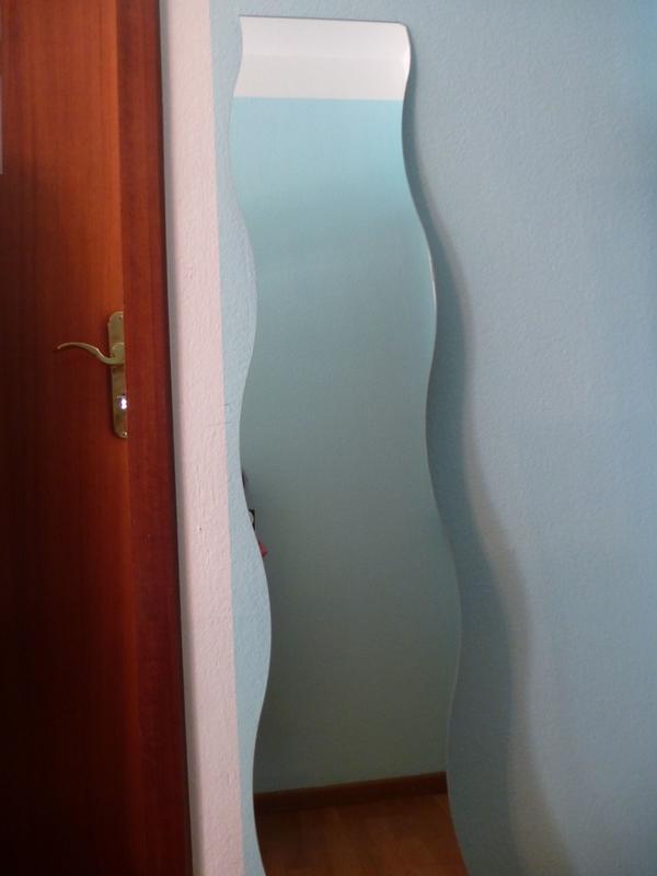 wellen spiegel gebraucht kaufen nur 2 st bis 65 g nstiger. Black Bedroom Furniture Sets. Home Design Ideas