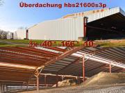 Stahlhalle 40x100x10m mit