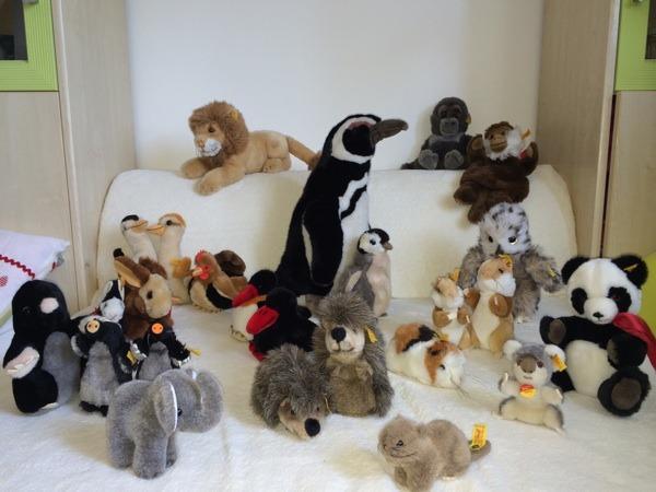steiff tiere in herzogenaurach sonstiges kinderspielzeug kaufen und verkaufen ber private. Black Bedroom Furniture Sets. Home Design Ideas