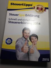 Steuersparerklärung 2013 (für
