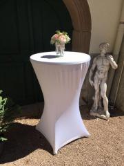 Stuhlhussen - Stehtischhussen - Hochzeit -