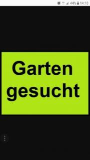 Suche Garten zum