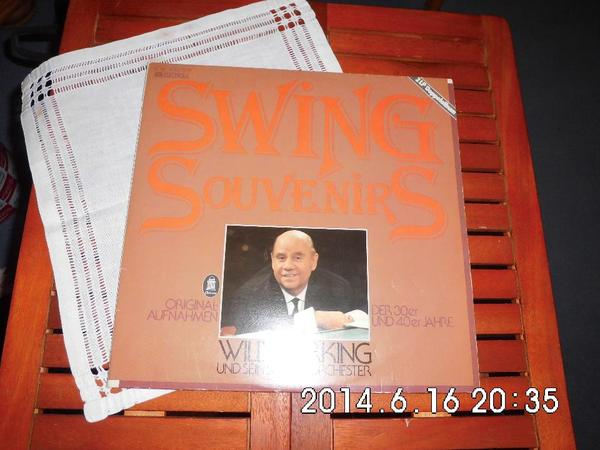 Swing Souvernirs Willy Berking