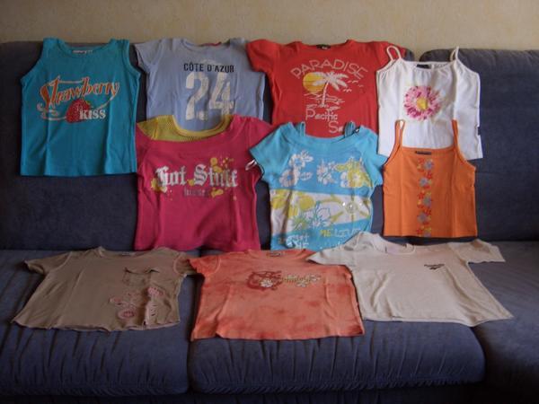 T-Shirt Paket Gr 122 128