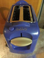 Tefal Toaster blau wenig gebraucht