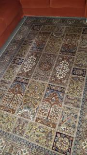 Teppich Wolle/Seide