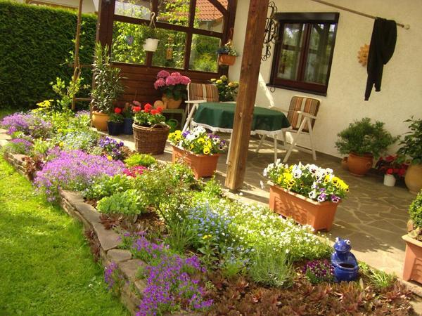 terrassenwindschutz – proxyagent, Garten seite