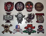 Textil Embleme zum