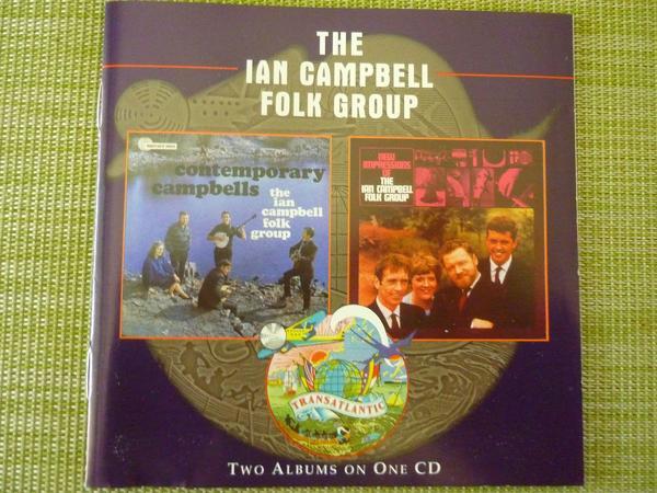 The Ian Campbell Folk Group - Speyer - Sehr sehr schöne Folk-Musik von 2 CD``s: Contemporary Campbells + New Impressions - Speyer