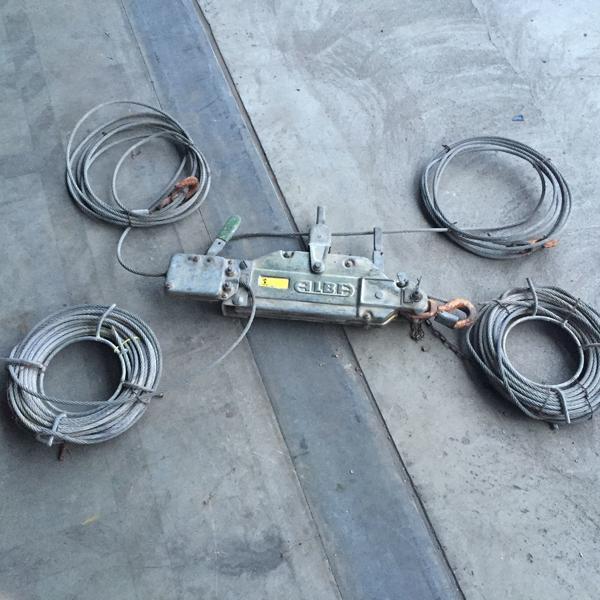 Tirfor Greifzug Handseilzug ALBA 800 - Altlußheim - Zu verkaufen: Handseilzug der Fa. ALBA Typ 8A gebraucht, 100% funktionsfähigZugkraft : 800 kgBruchwert: 3300 kgGewicht: 7 Kg (ohne Hebel und Seil)Drahtseil: Stahl, 8,3mm stark/25 m lang (Bruchwert:4700 kg)2. Seil als Sicherheitsseil (Mechan - Altlußheim