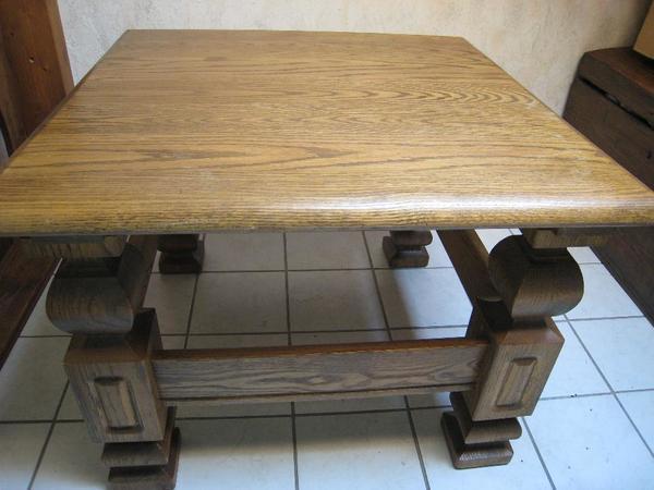 tisch rustikal gebraucht kaufen nur 2 st bis 75 g nstiger. Black Bedroom Furniture Sets. Home Design Ideas