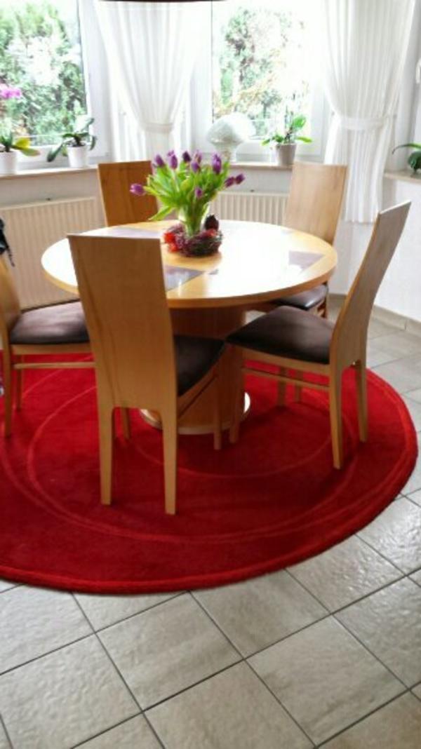 Tisch wei rund gebraucht kaufen nur 2 st bis 65 g nstiger for Esszimmertisch gebraucht