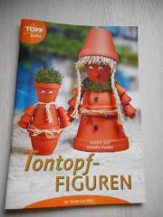Tontopf-Figuren Bastelheft