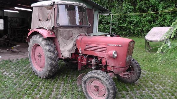 traktor schlepper linde g ldner g30 bastlerfahrzeug in. Black Bedroom Furniture Sets. Home Design Ideas
