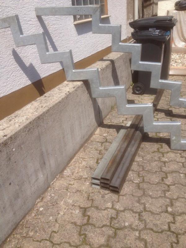 treppe stahltreppe eingangstreppe in gossersweiler stein sonstiges material f r den hausbau. Black Bedroom Furniture Sets. Home Design Ideas