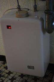 Untertischboiler Warmwasserspeicher