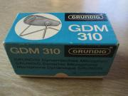 uraltes Grundig Mikrophon GDM 310