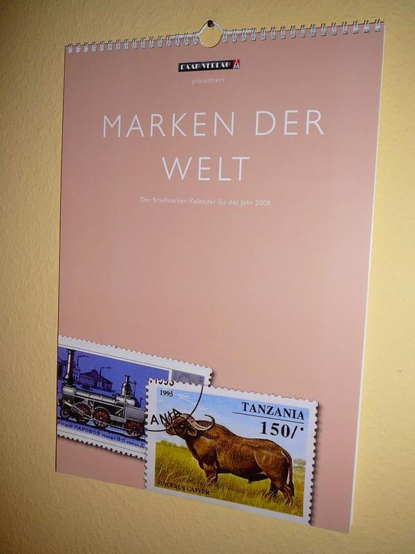 Verkaufe Briefmarken-Kalender Marken Der Welt