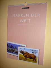 Verkaufe Briefmarken-Kalender