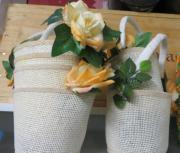 Verschenke Blumenkörbchen zum