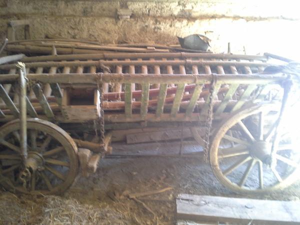 Verschiedene landwirtschaftliche Maschinen