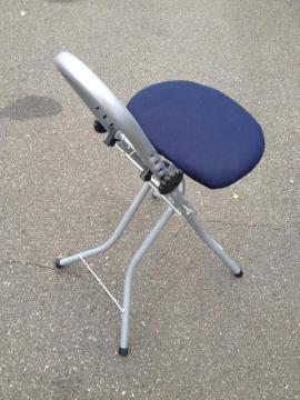 verstellbarer Bügelstuhl zusammenklappbar TOP-ZUSTAND: Kleinanzeigen aus Oberasbach - Rubrik Bügel- und Mangelgeräte