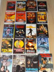 Viele VHS Originalvideokassetten
