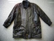 Vintage - Damen Lederjacke Jacke Parka
