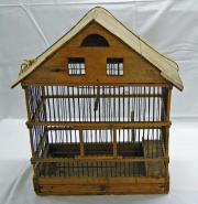 Vogelbauer aus Holz
