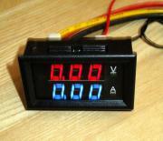 Voltmeter/ Amperemeter digital