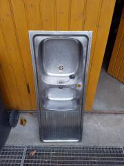 Waschbecken Edelstahl
