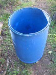 Wasserfass Futtertonne Kunststofffass Fass aus
